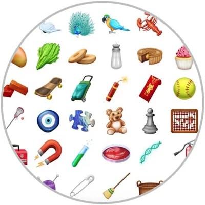 2018 New Emojis
