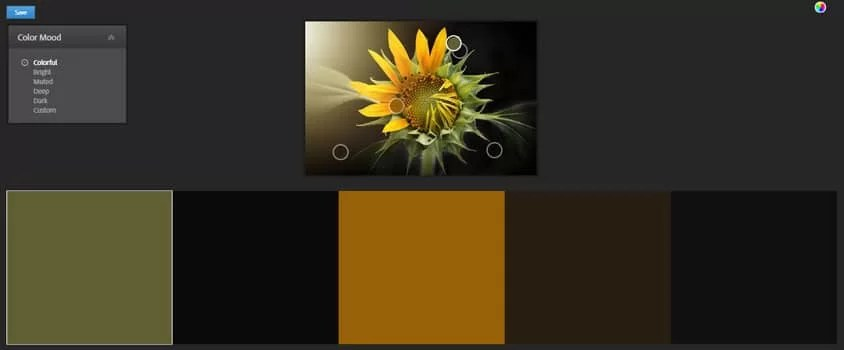Adobe color palette extractor