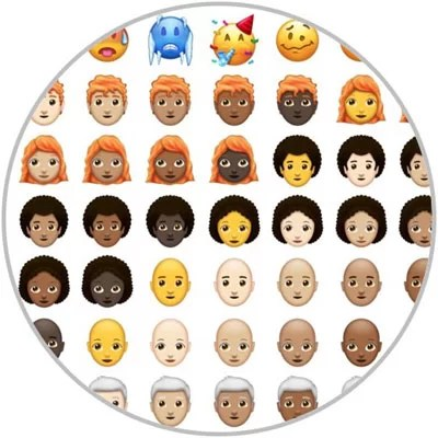 New emojis 2018