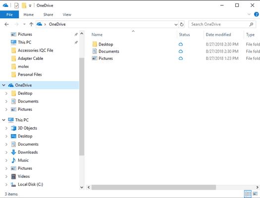 One Drive Folder