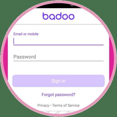 Login mobile badoo How to