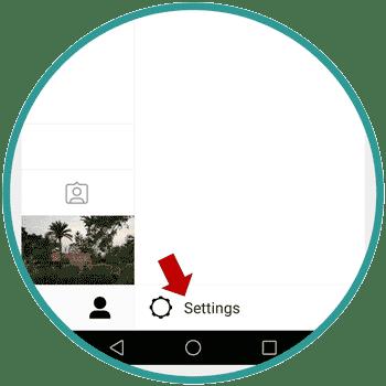 Instagram setting