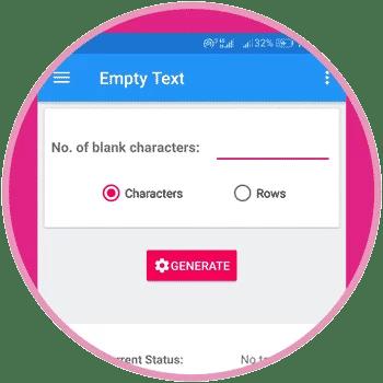 Empty Text UI