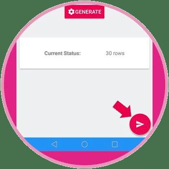 Displaying Send Button