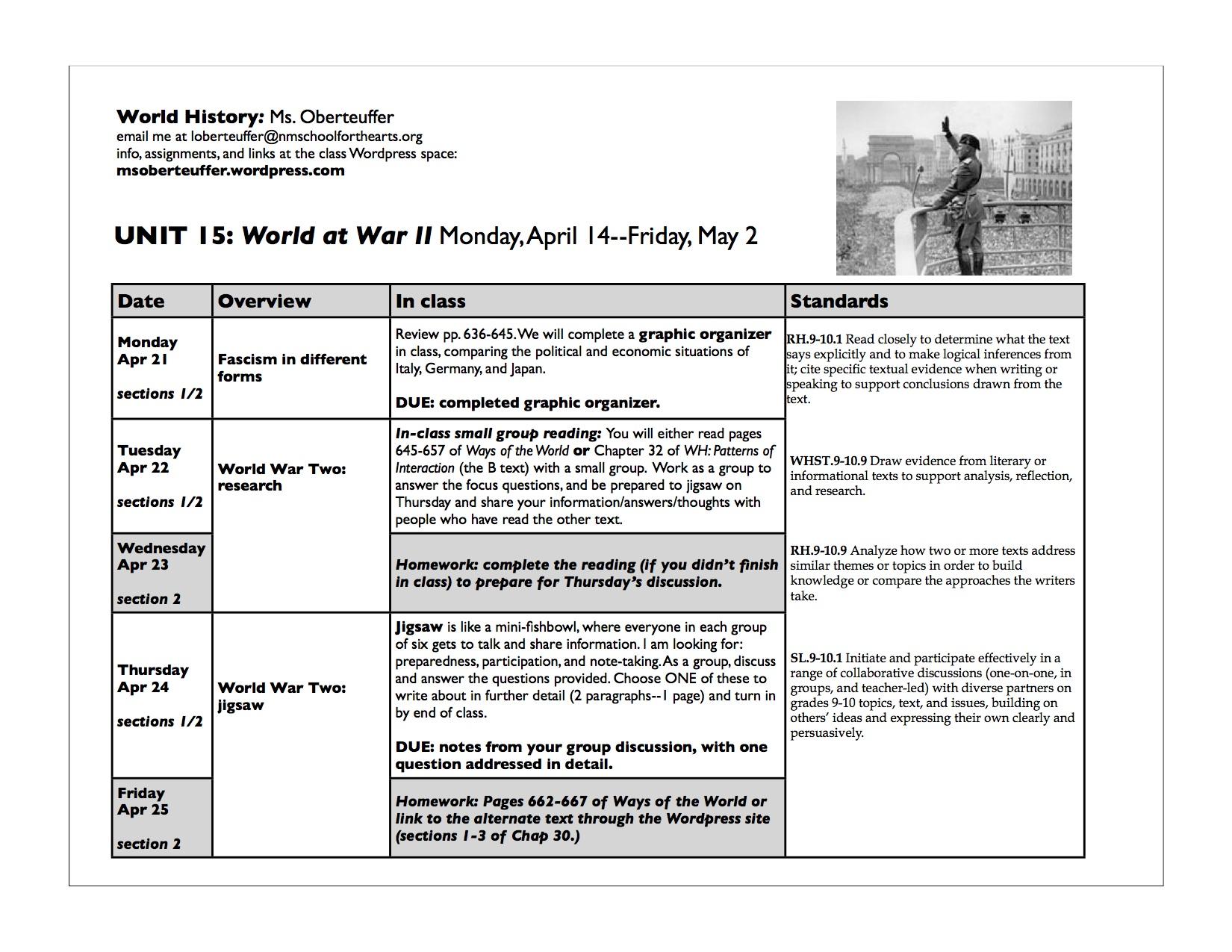 27 A Worldwide Depression Worksheet