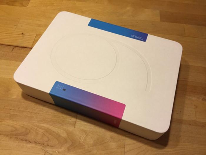 Nexus 9 упаковка