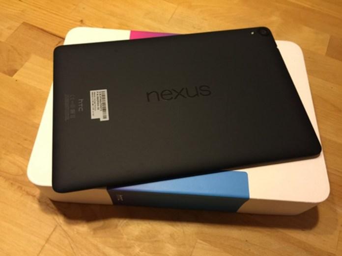 Nexus 9 тыльная сторона