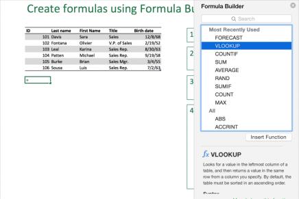 Несколько простых трюков в Excel 2016 для пользователей Mac
