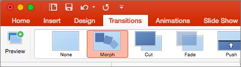 Morph в Mac системах