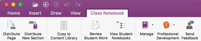 Class Notebook for Mac