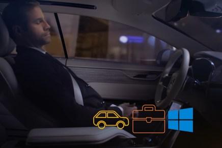 Как Microsoft и Volvo видят продуктивность делового человека в дороге