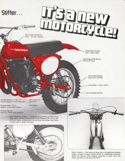 small resolution of 1978 mx 250 factory information