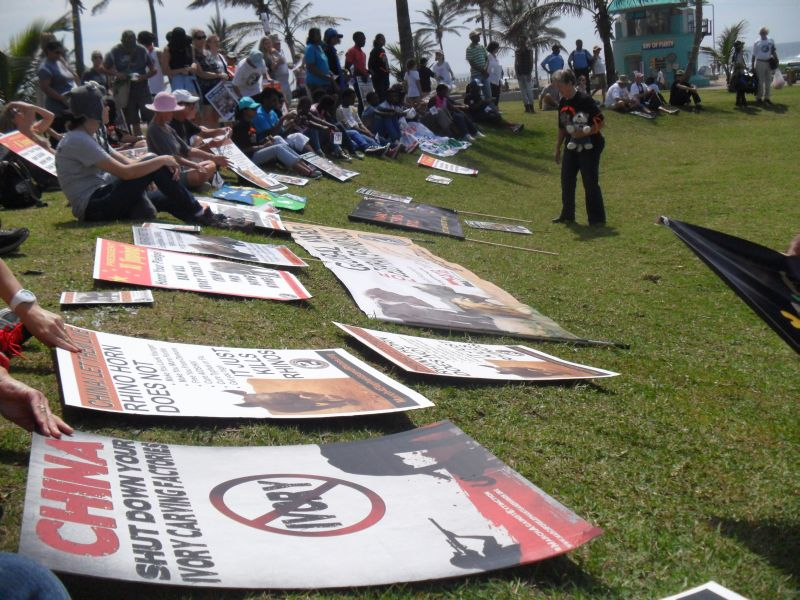 Global March for Elephants and Rhinos, Durban (2/4)