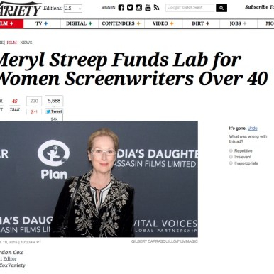 Variety announces The Writers Lab