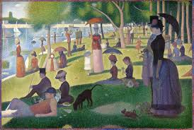 georges-pierre-seurat-sunday afternoon