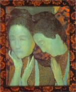 Maurice Denis - the-two-sisters