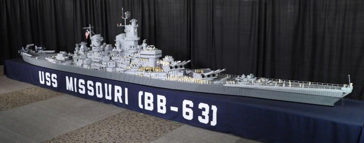 Uss Missouri Lego Battleship