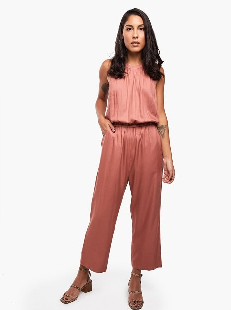 Juhi-Halter Jumpsuit from Able