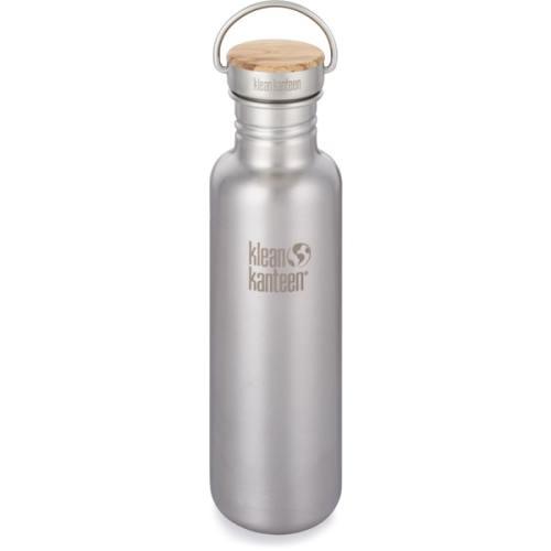 Klean Kanteen reusable water bottle as an eco-friendly swap for plastic single use bottles