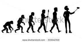 evolution-from-ape-to-man-development-progress-primate-growth-ancestor-and-331642310