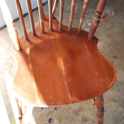Diy Painted Windsor Chairs V Steam Chair How To Paint Black Delight Then We The With Milk Used Because Historically Craftsmen It On Also S Durable A