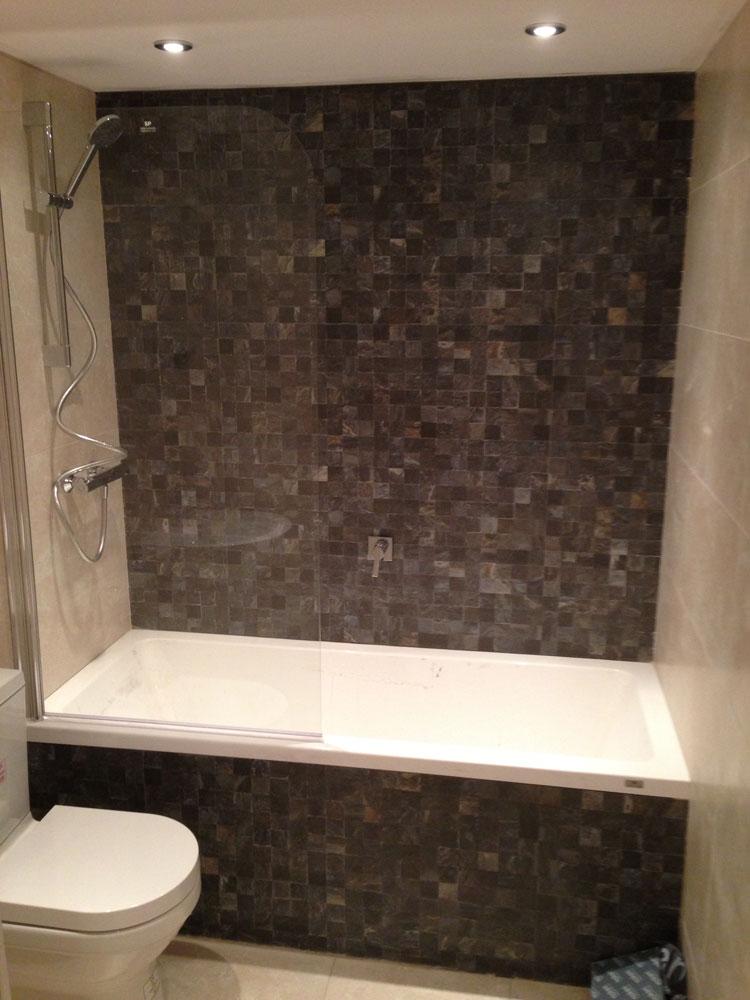 Porcelanosa Bathroom Suite Installation and Tiling