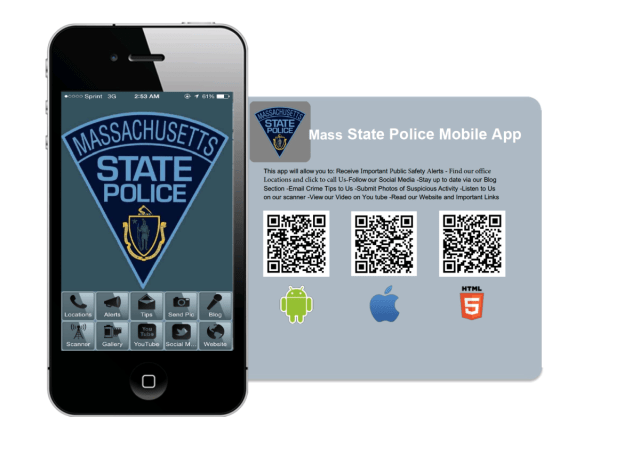 Mass State Police… There's an app for that  | MSPnews org