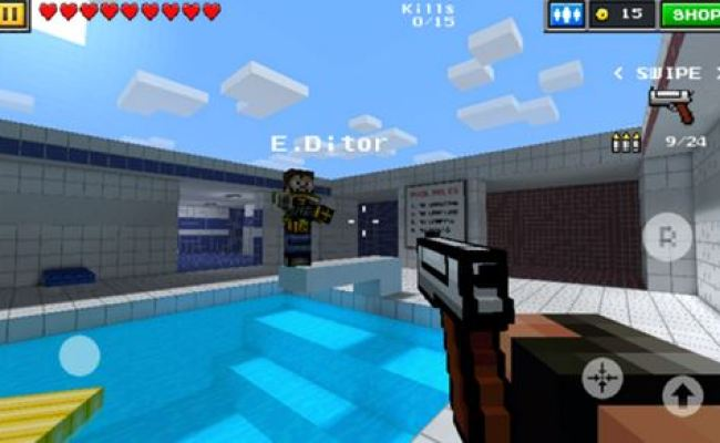 Pixel Gun 3d Minecraft Style Game Now Available In