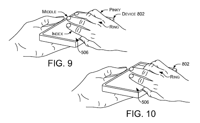 Microsoft patents new gesture unlock which will only work