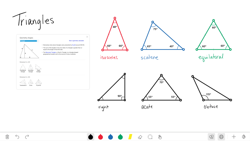Microsoft's Whiteboard app for teachers and students show