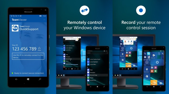 teamviewer quicksupport app now allows you to remotely control your windows mobile device - mspoweruser