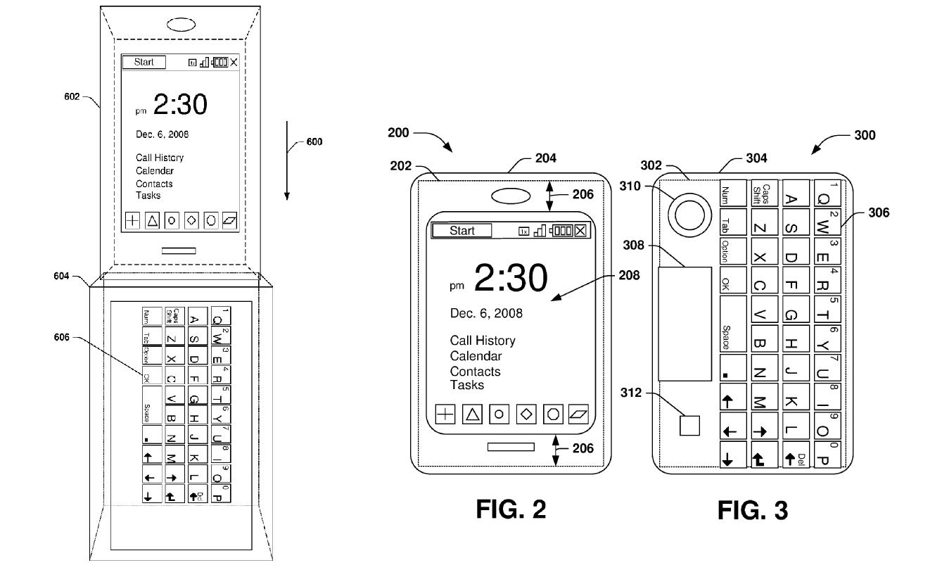 Microsoft renews keyboard case patent for Windows Phones