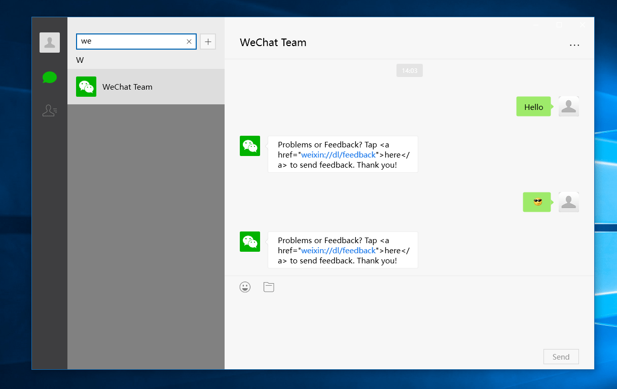 WeChat's Windows 10 app is now available - MSPoweruser