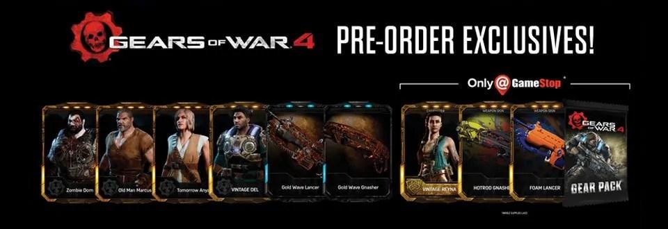 Gamestop Now Also Offering The Gears Of War 4 Elite Gear
