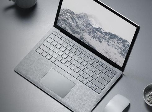 Surface Laptop intro