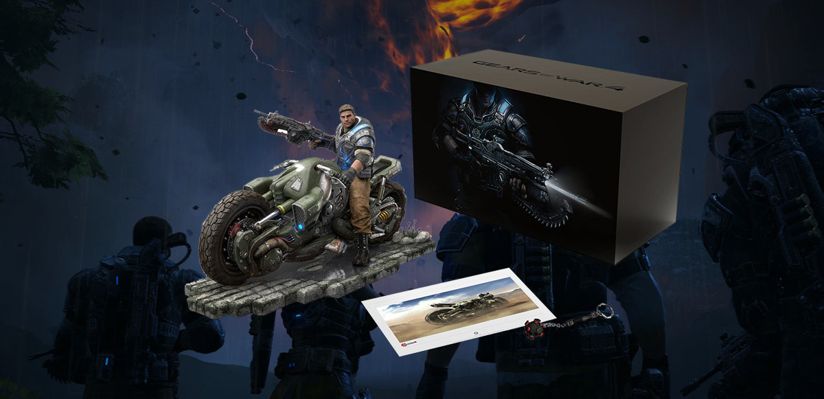 Grab Gears Of War 4 Collectors Edition From The Microsoft
