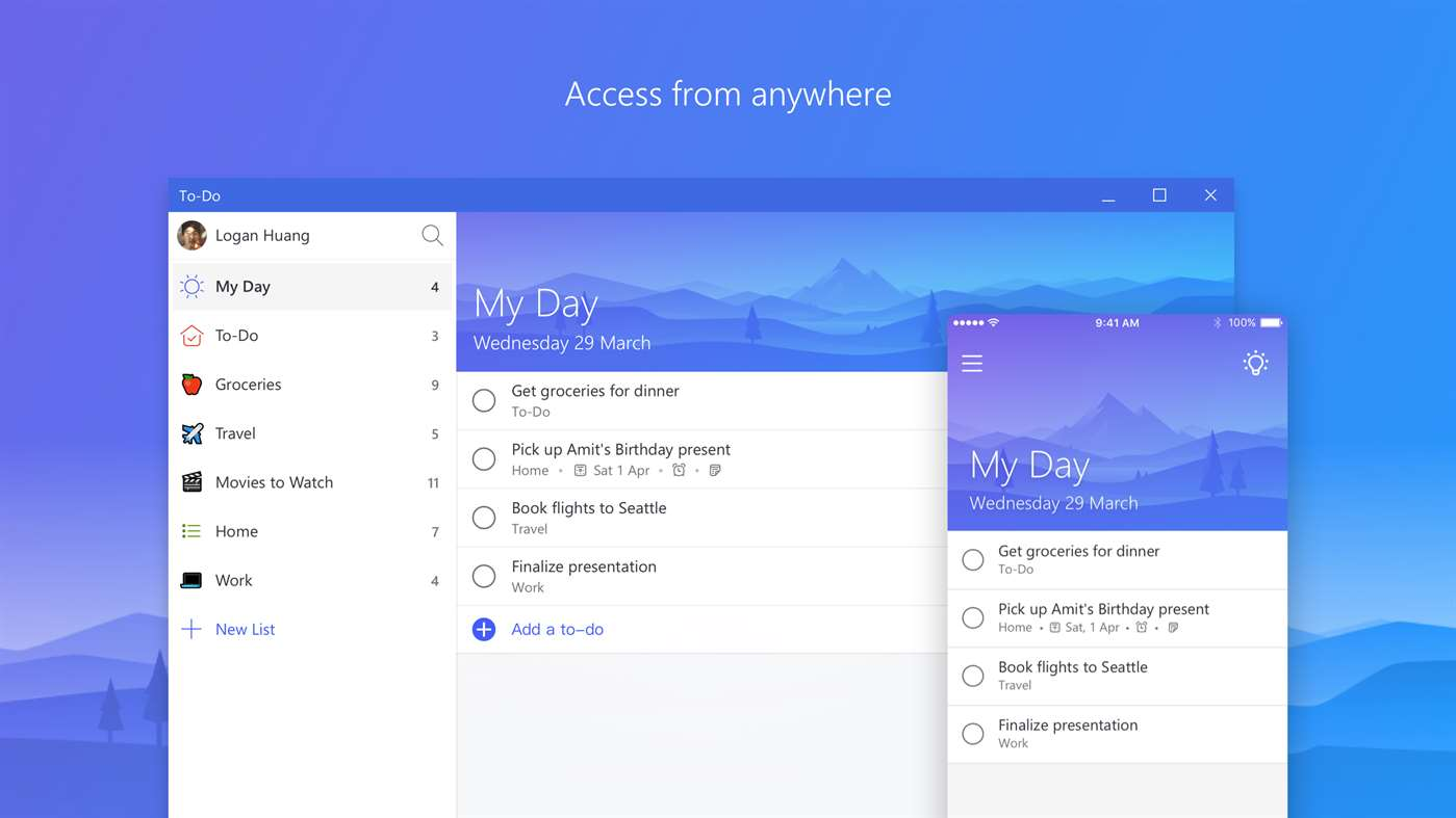 Microsoft Todo App Updated With Improved Ui And Startup Time In Windows Store  Mspoweruser