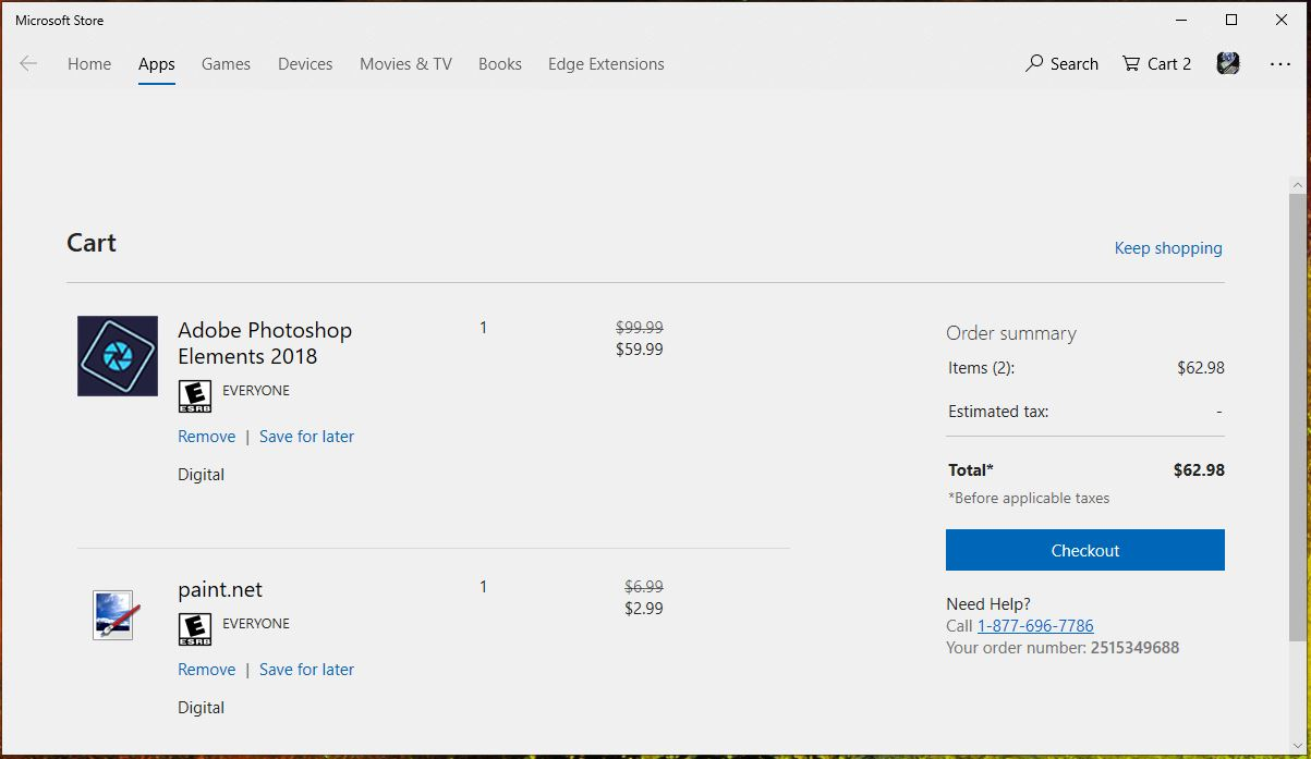 Microsoft rolling out new Shopping Cart feature in the