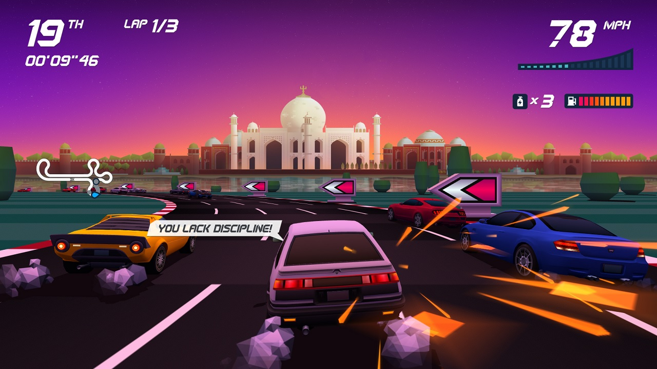 Review Horizon Chase Turbo is the OutRun successor fans