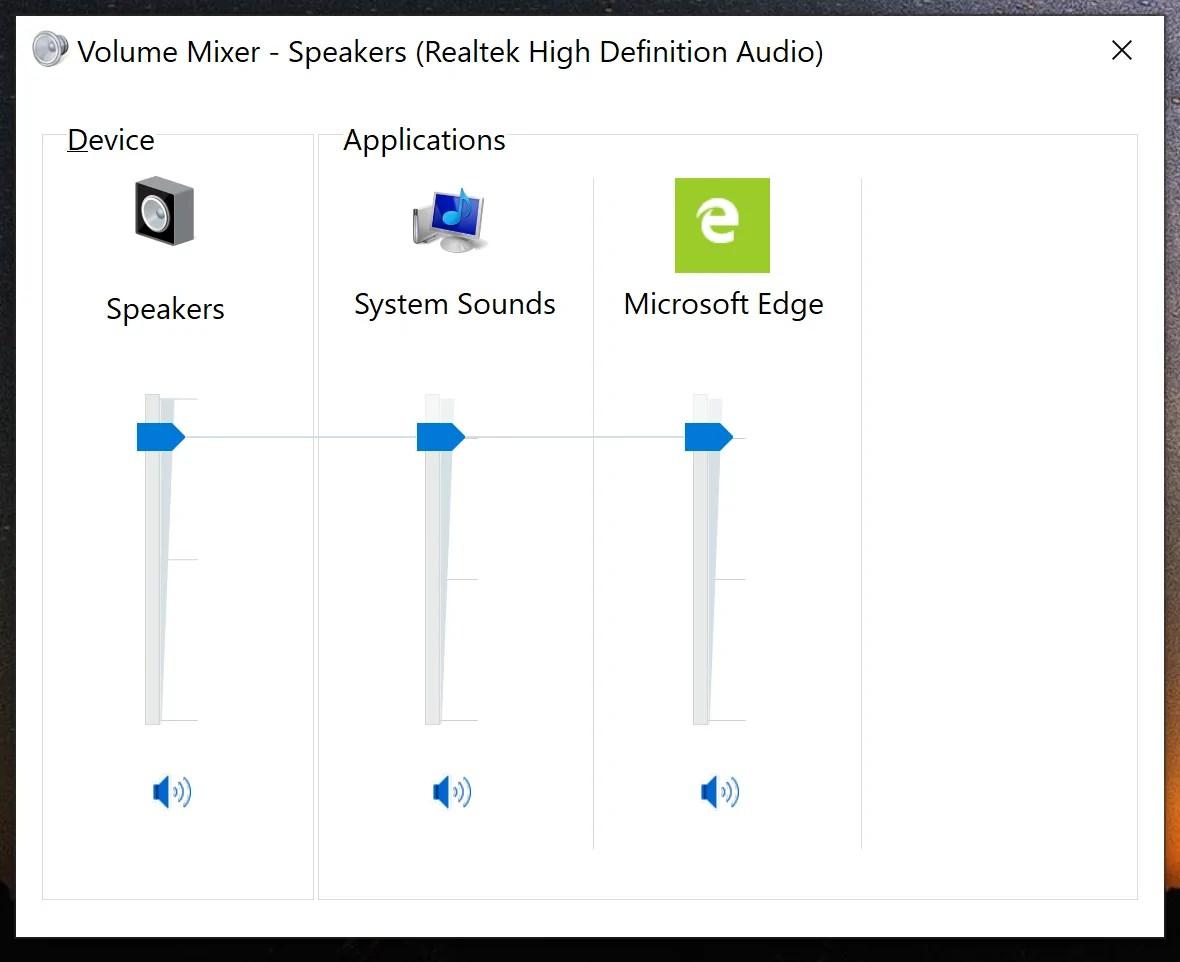 Microsoft is deprecating the old Windows Volume Mixer