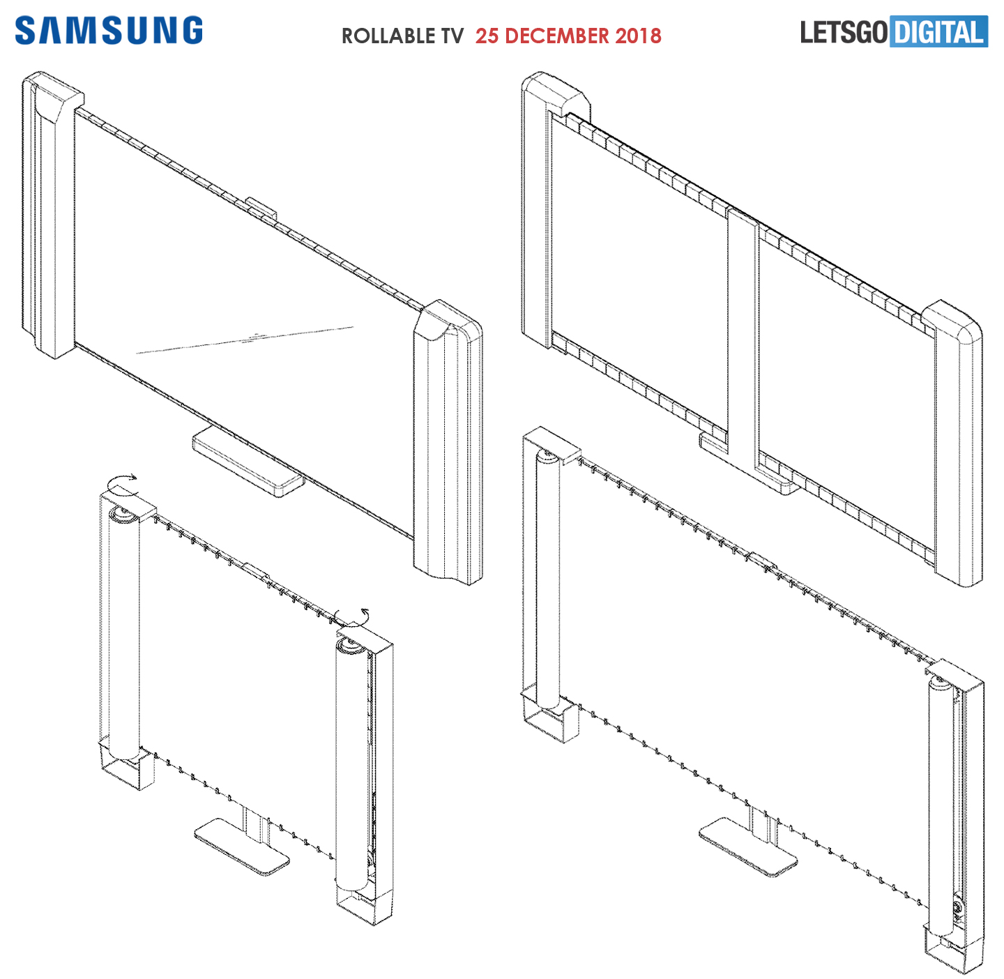 Samsung goes in a different direction with their own roll