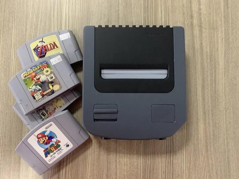 Hyperkins Ultra Retron is a Nintendo 64 for modern TVs