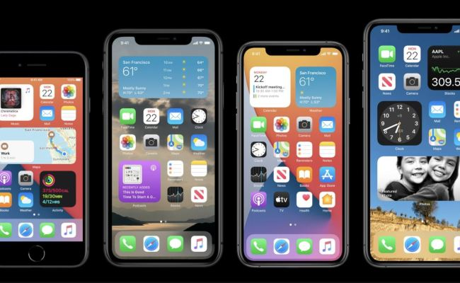 Apple Announces Ios 14 With Widgets And All New Home Page