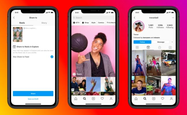 Facebook Officially Launches Instagram Reels To Take On