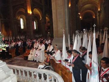Celebración en San Felipe de Jesús