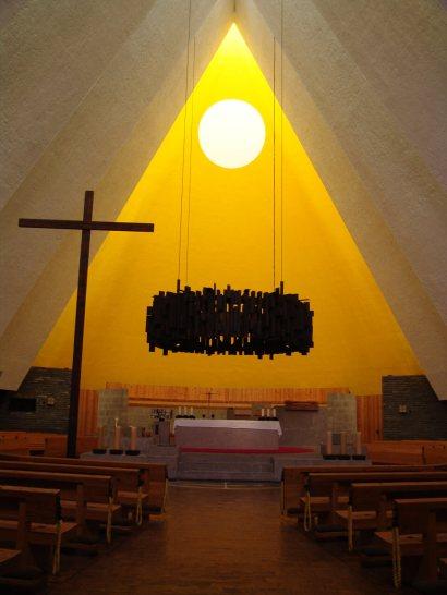 Iglesia dentro