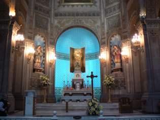 Altar mayor Templo Expiatorio de san Felipe de Jesús