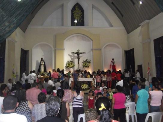 Interior Parroquia Señor de Esquipulas - Guatemala