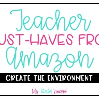 Teacher Must-Haves from Amazon