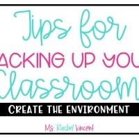 5 tips for packing up your classroom
